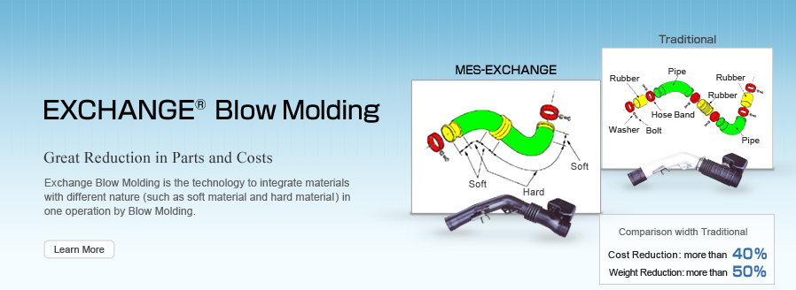 EXCHANGE Blow Molding