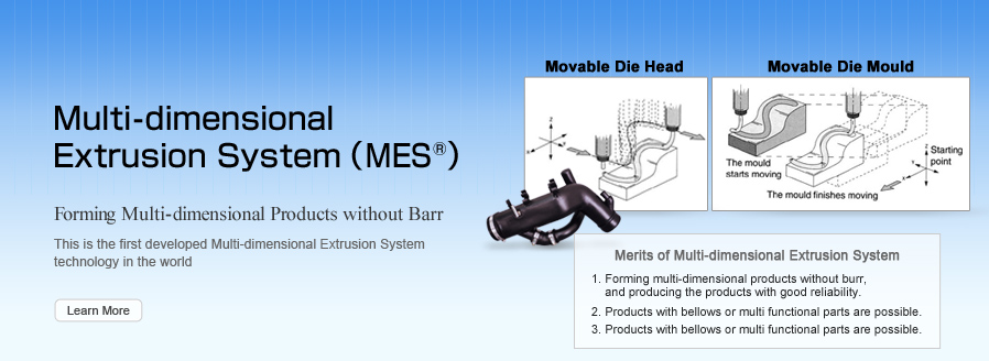Multi-dimensional Extrusion System (MES)